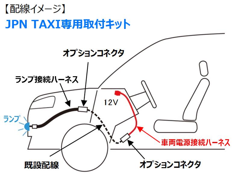 JPNTAXI用 配線イメージ