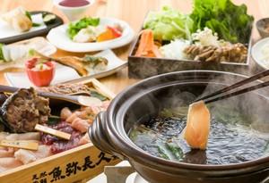 ●春プラン● 名物!鮪のしゃぶしゃぶと春野菜の天ぷらプラン