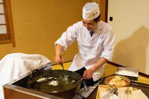 【1日1組限定!】揚げたてが美味しい!お座敷天ぷらコース