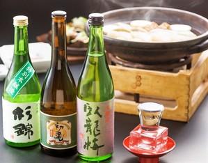 日本酒とおでんのイメージ