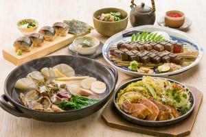 ◆春コース◆桜鯛の極上出汁春おでんと天然南鮪三種食べ比べ握り寿司コース