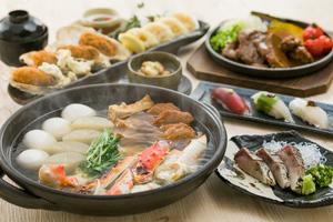 【冬プラン】たらば蟹おでんと名物 牛ほほ肉の十千焼きコース  11月20日より承ります