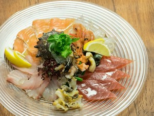 駿河湾&函館港 鮮魚と貝のお刺身カルパッチョ