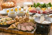 鰹の三保松原焼と豪快!肉盛り夏の宴プラン 120分飲み放題付き 6名様〜18名様