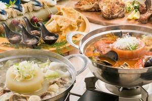 ●新春プラン●【1・2月限定】名物!熟成肉の炭焼きプレートと選べる富士山鍋の宴席【120分飲み放題付き】