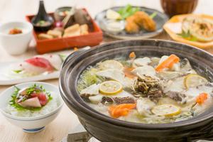 ◆冬プラン◆ゆず香る真鯛鍋と冬の美食会席4,000円(税込)