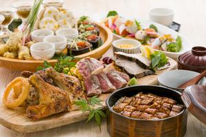 草薙皿鉢と鱧の蒲焼き重コース