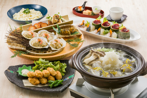 ◆冬プラン◆函館港直送 真鱈と白子のみぞれ鍋と草薙皿鉢コース