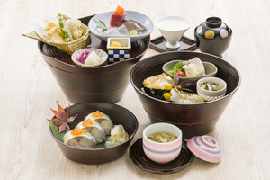 【5つの小 対応】個人盛り和膳と選べる釜めし 90分スリードリンク会食プラン
