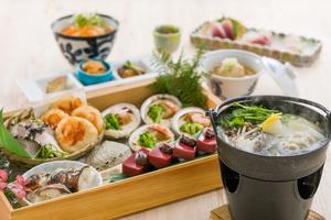 ◆冬プラン◆ メインが選べる冬の皿鉢盛り会席プラン【120分飲み放題付き】