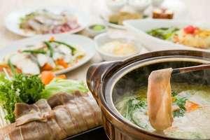●冬プラン● 牛タンとふじのくに野菜のしゃぶしゃぶプラン