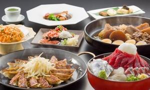 県外のお客様のおもてなしに!静岡郷土料理とB級グルメ食べ尽くしプラン