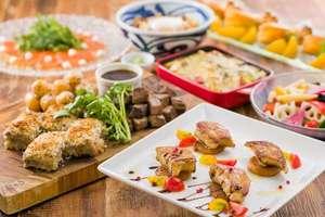 ●冬プラン● 鴨フォアグラソテーと冬野菜のラザニアのパーティープラン
