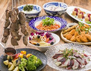 喜ばれる歓送迎会に、其の一「低温熟成吊るし肉と桑高農園の西洋野菜を愉しむ。春の宴席プラン」のご紹介です。