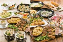◆春プラン◆ カジュアルな和食or洋食パーティコース、ブッチャーズプラッター付きの春のセレクトプラン【飲み放題付き】