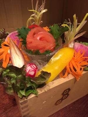 ◆花束サラダ◆ お祝いや送別会などに