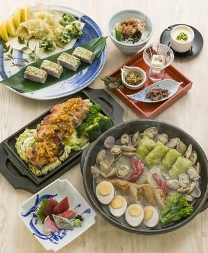 ◆春プラン◆浅利の旨味たっぷり海鮮春おでんと若鶏ゆうあん焼きコース※2月後半より