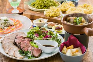 ◆秋プラン◆ 富士山麓彩り食材食べ尽くしプラン【100分飲み放題付き】