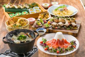 【冬のスタミナ会】冬の豪華肉盛りと鉄鍋蒸しのプラン