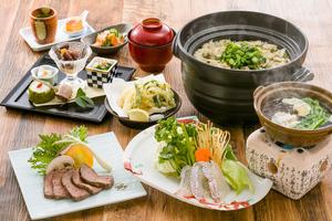 ◆春コース◆ 桜鯛しゃぶ・熟成サーロイン・蛤土鍋飯の特別会席 ※3月5日スタート