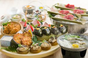 ◆冬プラン◆ 真鱈と白子のみぞれ鍋と豪華!冬皿鉢会席【120分飲み放題付き】