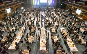大ホール1000名施工例