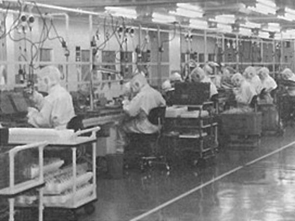 茨城工場内部