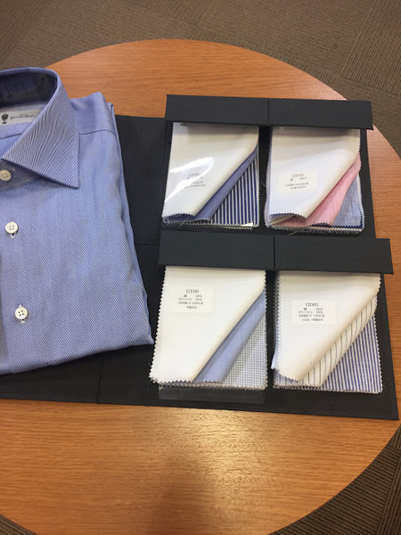 銀座山形屋オーダーシャツ 新規生地サンプルが入荷いたしました。